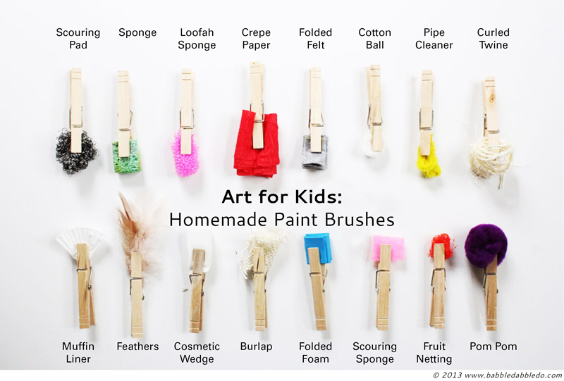 http://babbledabbledo.com/16-homemade-paint-brushes/#_a5y_p=1076481