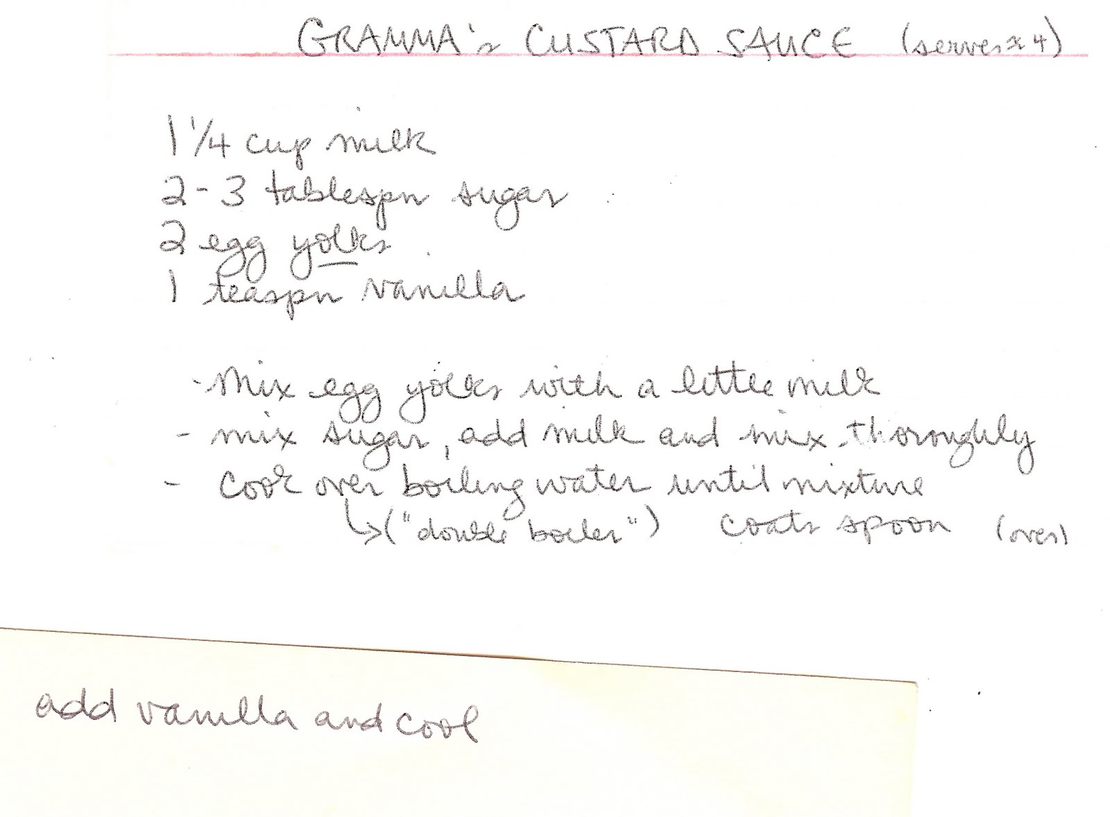 Season To Taste: Gramma's Snow Pudding with Sunshine Sauce