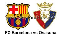 Barça conra Osasuna - Segunda Jornada Liga BBVA 2012