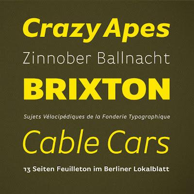 Fonte FF Basic Gothic Font