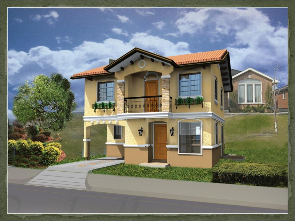 Ruby dream home designs of lb lapuz architects builders House design
