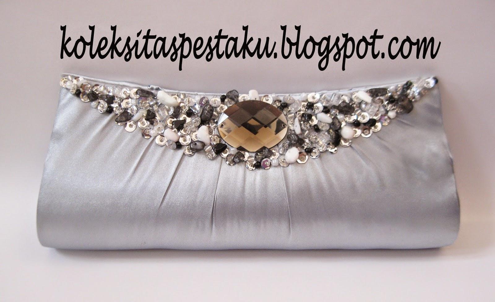 Silver Tas Pesta Cantik dan Elegant Terbaru