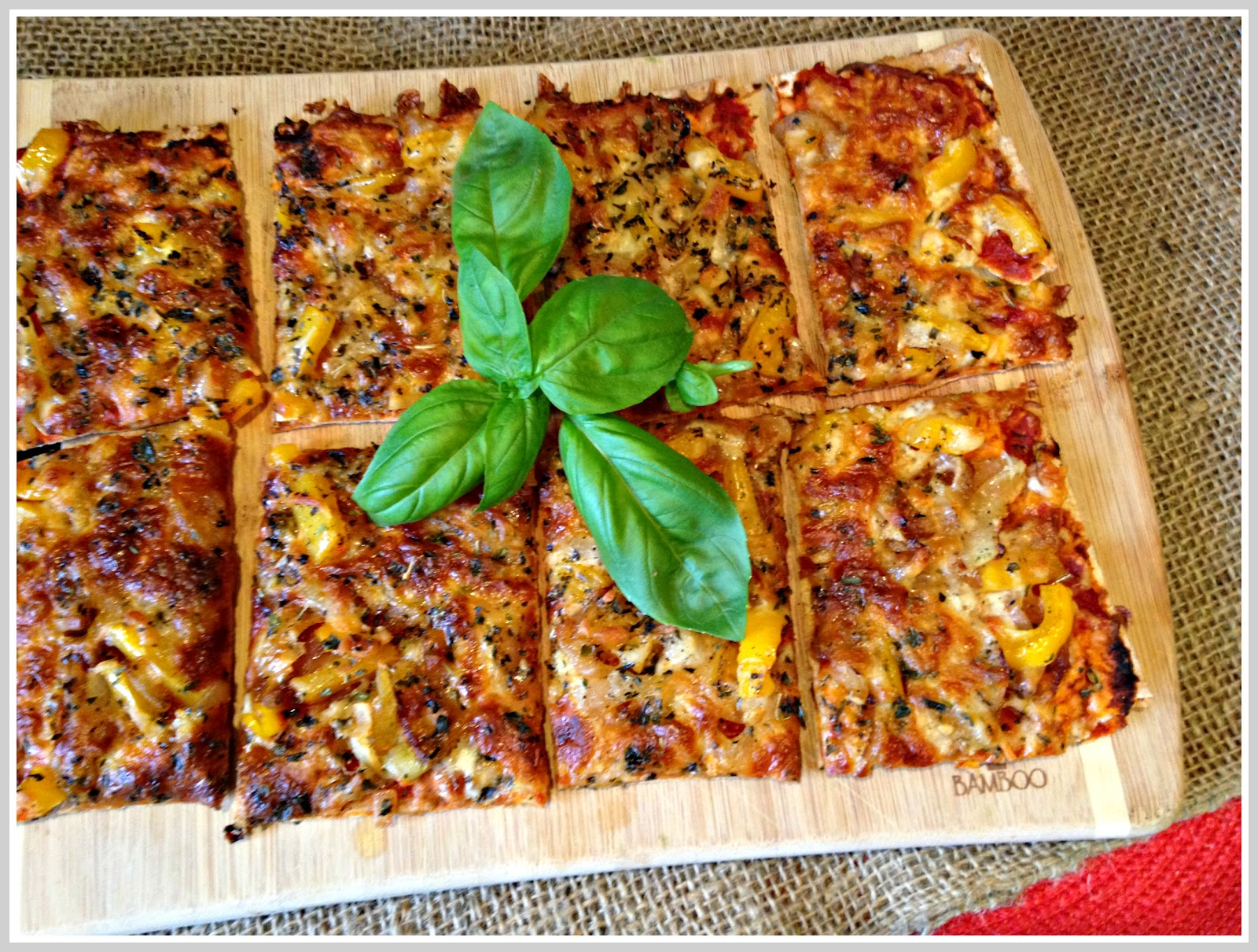 Granny School: Lavash Bread Pizza