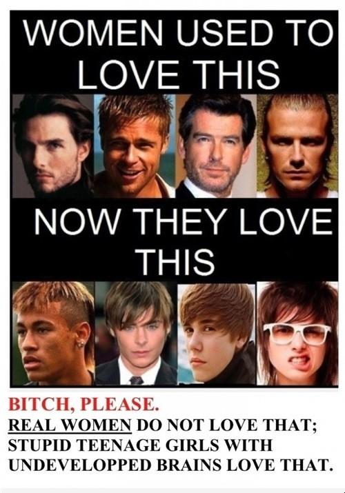 Shame on you girls!.