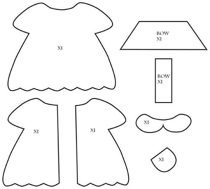 Dress a doll template 28 images blythe dress pattern smile and dress a doll template by doll diaries chapter 2 hikari s felt doll dress maxwellsz
