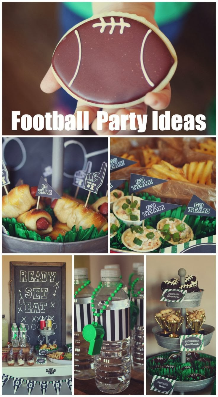 Inspired By Fabric Super Bowl Party Ideas