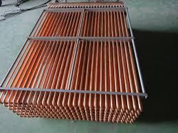 bloque enfriamiento tubos cobre