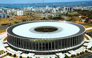 Estádio Mané Garrincha em computação gráfica