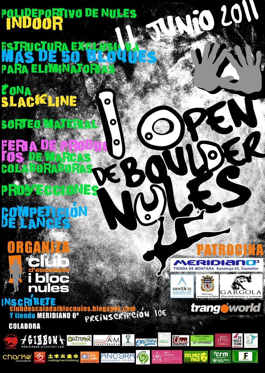 1er Open de Boulder