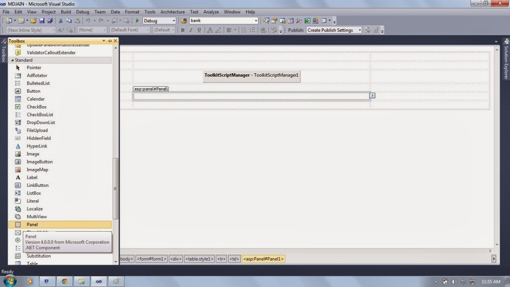 how to add ajax control toolkit in visual studio 2013