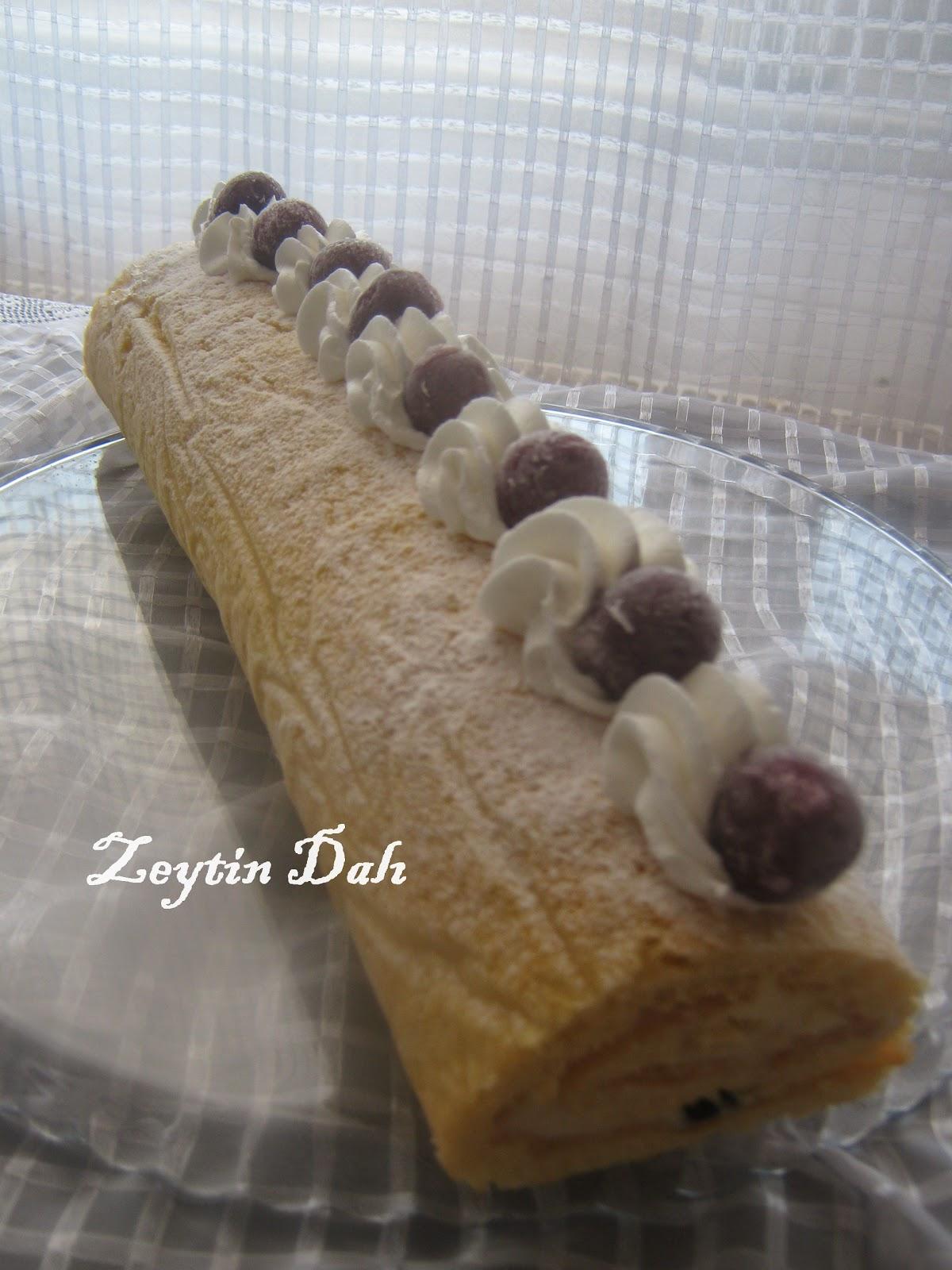 rulo pasta,damla çikolatalı pasta,pasta,kremalı pasta