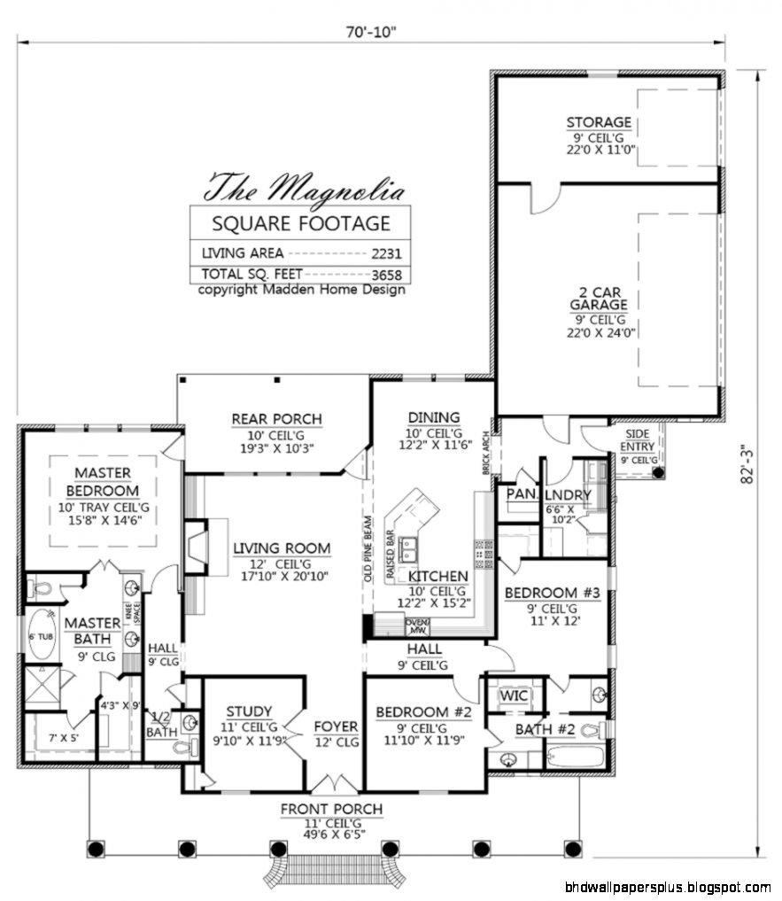 Madden Home Design   The Magnolia