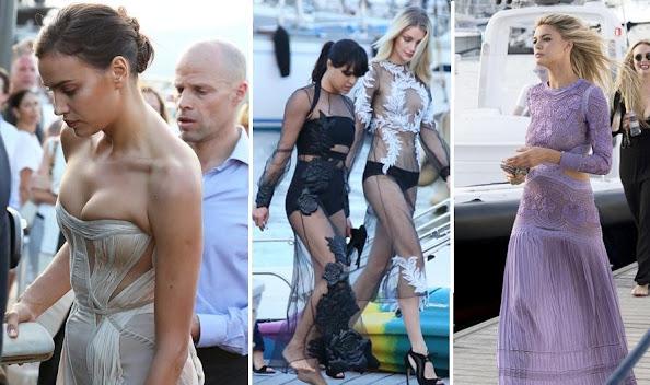 Irina Shayk, Michelle Rodriguez and Jessica Stam, Nina Dobrev and Kelly Rohrbach