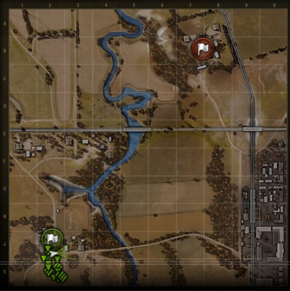 75 preview new map highway wot guru the map has a few key areas that i found to be the important spots on the map sciox Gallery