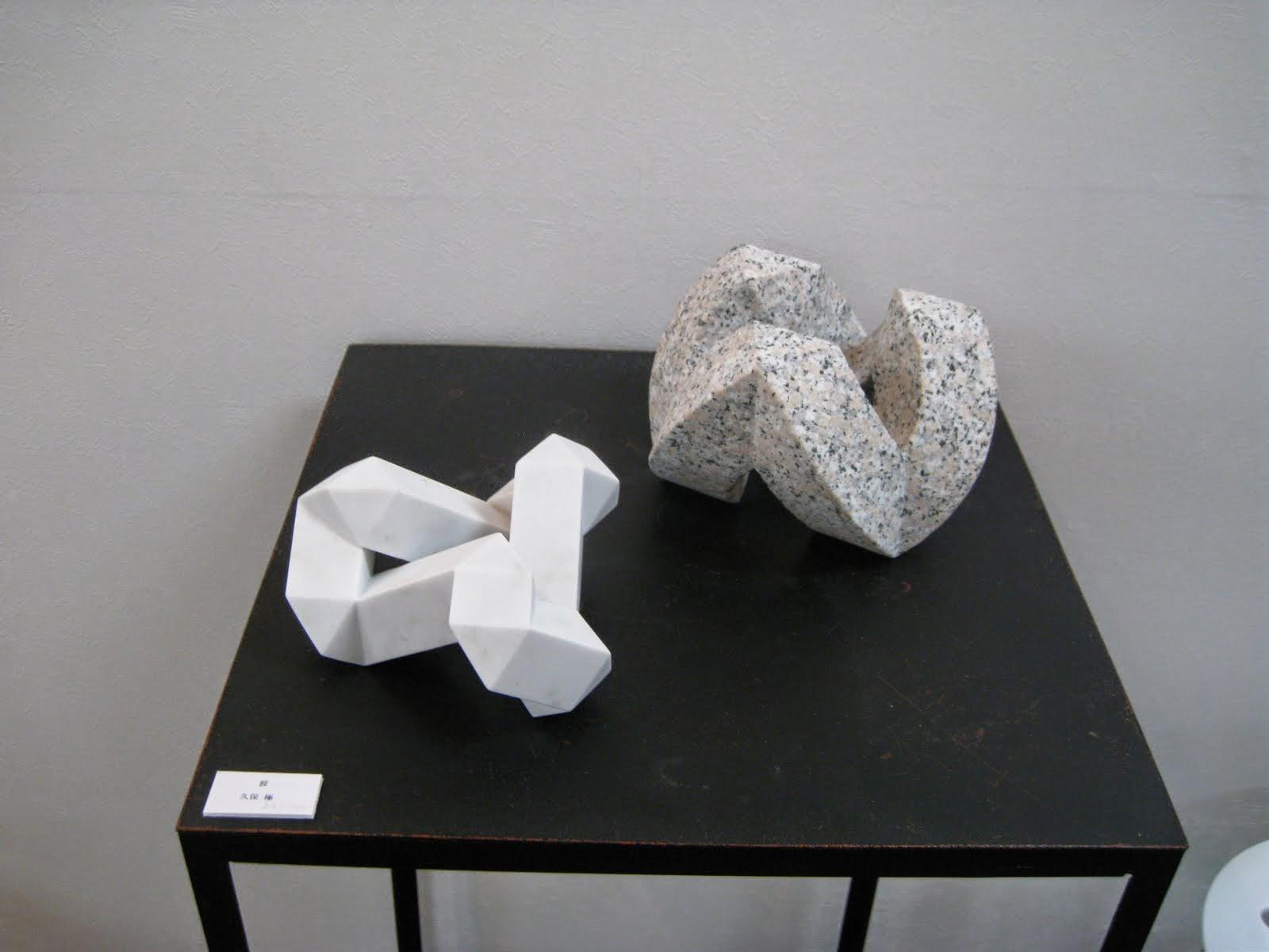 彫刻家久保極の彫刻作品