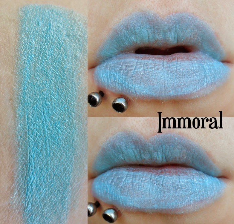 MakeUp Revolution Immoral Swatch