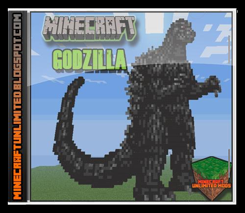 Godzilla Mod Minecraft