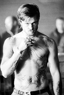 Brad Pitt Tattoo Designs