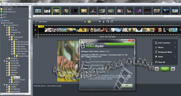 Buy Oem Ashampoo Video Styler 2013