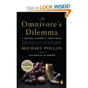 "The Omnivore's Dilemma is the latest book by Michael Pollan, best known for his previous best‐ selling work, The Botany of Desire. Here, Pollan has crafted a well‐written and enjoyable exploration of humans' relationship with food. The book is written for a lay audience, but is appreciable by all. Pollan begins by focusing on a seemingly simple question, ""What should we have for dinner?"" The answer, it seems, is not so simple for omnivores like us. Pollan guides the reader by examining the three major types of food production and divides the book into these three areas: Industrial (focusing on the modern food industry's reliance on corn), Pastoral (focusing on organic food production, both ""big"" and ""small"" scale), and Personal (focusing on personally hunting and gathering one's food). The first, Industrial section of the book demonstrates that nearly everything we consume in Western society, particularly in America, is in some way derived from corn. The processed foods that seem a staple of modern living are derived largely (if not wholly) from corn. Even foods such as eggs, chicken, fish, and beef are essentially derived from corn: cows, chickens, and fish are coerced to consume a food that to them is highly unnatural. If we are what we eat, as Pollan says, we are mostly corn. Pollan describes the modern industrial food chain by tracing the path of corn from farmer to feedlot to finished product. Along the way, he explains how the modern food chain has come to be dominated by corn. He explains how corn has evolved from a simple grass to the dominant crop that it is today. Particularly interesting is his argument that corn exploits us as much as we it. Humans exploit corn by using it in everything from whiskey to sweetener. Corn exploits humans by becoming a seemingly indispensable part of the modern food chain. Certainly, corn is a wildly successful species, and has become so by evolving into such an attractive food crop. Not surprisingly, Pollan is critical of the industrial food chain. He argues that the virtue of cheap food, particularly food derived from cheap corn, hides its cost. The true cost is instead borne by us all in the form of taxes and corn subsidies, environmental damage, and health problems. Pollan describes striking similarities between the modern obesity epidemic and therampant alcoholism of 19 th century America. Both are explicable by the need to use up an ever‐ growing surplus of cheap corn. Further, he argues that we are participating in an unsustainable system of food production, and that our dependence on a single crop is a glaring weakness that may have serious consequences for our health and for the environment. Next, Pollan examines the modern ""alternative"" to the industrial food chain. The Pastoral section of The Omnivore's Dilemma makes a distinction between large‐scale organic production (""big organic"" in Pollan's words) and smaller, local organic producers (""small organic"") Big organic is characterized by corporations such as Whole Foods. Here Pollan illustrates how the well‐intentioned organic food movement has grown into a slightly modified version of industrial food production. Striking examples are provided, such as the ""free‐range"" chicken farm where chickens live in nearly identical conditions to their non‐organic counterparts. They are afforded access to the outdoors only after spending weeks confined indoors. As a result, the chickens are too afraid to ever leave the sheds in which they spend their entire lives. Furthermore, because organic food production precludes the use of antibiotics, the chickens are so prone to disease that workers must wear sterile clothing and masks to prevent mass infection and death. Other flaws in ""big"" organic are discussed, painting a picture of a feel‐good movement that provides few benefits. Pollan's final position on ""big"" organic is somewhat unclear. He clearly perceives substantial flaws in the system, such as the fact that it is as non‐sustainable as typical industrial food production, but at the same time he seems to argue that it is at least a step in the right direction. Pollan's position on ""small"" organic is much less equivocal. He spends a substantial section of the book detailing his visit to a small organic ""grass"" farm. Although Pollan does his best to maintain a journalistic, neutral view throughout the book, it is clear that he was captivated by the work being done by the grass farmers. Pollan shows that the most important crop to these farmers is in fact the numerous varieties of grass, which form the foundation of the life cycle on the farm. These farmers work to farm in a sustainable, natural way that closely resembles the symbiosis of nature. In this section, Pollan provides a fascinating look at the evolved relationships between different species of plants and animals, and how these relationships can be utilized to create a sustainable farming system. Although Pollan is clearly enamored with such ""small"" grass‐based farming, he also recognizes the near impossibility of implementing such farming on a large scale. For example, the higher costs associated with this production method make it unlikely to be adopted by the population as a whole. Finally, Pollan examines our most ancient food production method: hunting and gathering. Of course he recognizes that such a system is no longer a viable one for many humans. But he argues that it is important to participate in and appreciate the shortest food‐chain possible, by eating food hunted or gathered personally. In this way the true costs of food, such as substantial time and energy investments, as well as the loss of another living being, may be better appreciated. Here Pollan demonstrates just how difficult hunting and gathering is, even equipped with modern tools such as rifles or GPS. Passages detailing the author's shift into a hunter's mindset were particularly interesting. Even having never hunted before, Pollan quicklyand automatically found himself attuned to the environment, aware of sights and sounds that normally go unnoticed. He writes ""my attention to everything around me, and deafness to everything else, is complete… everything is amplified"" (pp.334‐335). Pollan's hunting guide refers to this phenomenon as ""hunter's eye."" Scholars interested in the evolution of human behavior may be somewhat disappointed by the relative lack of attention Pollan gives to the field. It is clear that Pollan understands the importance of evolution, yet his discussion of evolved human psychology and behavior is minimal at best. Notably, Pollan devotes considerable time discussing the work of Paul Rozin, particularly his research on food selection behavior. Rozin postulated that the ""omnivoral problem"" would explain much about human nature, and this seems to have formed the basis of Pollan's thinking and writing. Little other empirical research is discussed. However, passages such as those mentioned above, detailing the emotions and experiences of hunting and gathering, seem to describe the operation of evolved mechanisms. In summary, The Omnivore's Dilemma is an outstanding book aimed at a wide audience. Pollan provides a fascinating look at how we choose what we eat. Scholars may be disappointed by the little attention devoted to evolved human psychology and behavior. However, Pollan still provides a superbly written book offering a complex answer to a deceptively simple and increasingly important question. William F. McKibbin is a Ph.D. student in the Evolutionary Psychology Lab at Florida Atlantic University. His current research interests include conflict between the sexes, particularly with regard to sexual behavior. Todd K. Shackelford received his Ph.D. in Psychology from The University of Texas at Austin in 1997. He is Professor of Psychology, Chair of the Evolutionary Psychology Graduate Program, and Director of the Evolutionary Psychology Lab (www.ToddKShackelford.com) at Florida Atlantic University. DOWNLOAD FILE HERE -->"