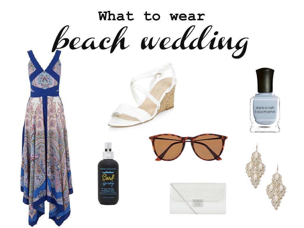 onceuponwedding blogspot beach wedding shoes Beach Wedding Dress Oasis Shoes New Look Nail polish Deborah Lippmann Hair Spray Bumble and bumble Clutch New Look Sunglasses River Island