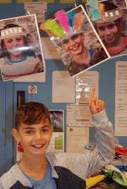 Deze leerling verdiende 5 pluimen!