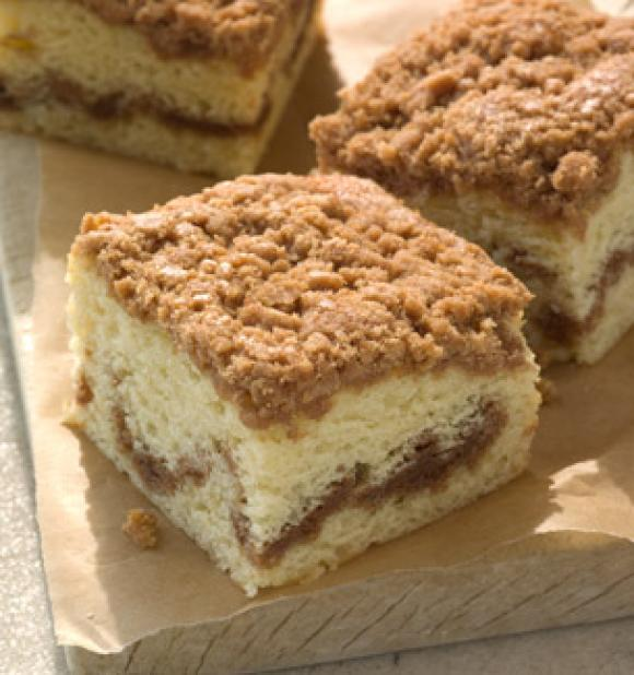 Graham Cracker Crumb Coffee Cake