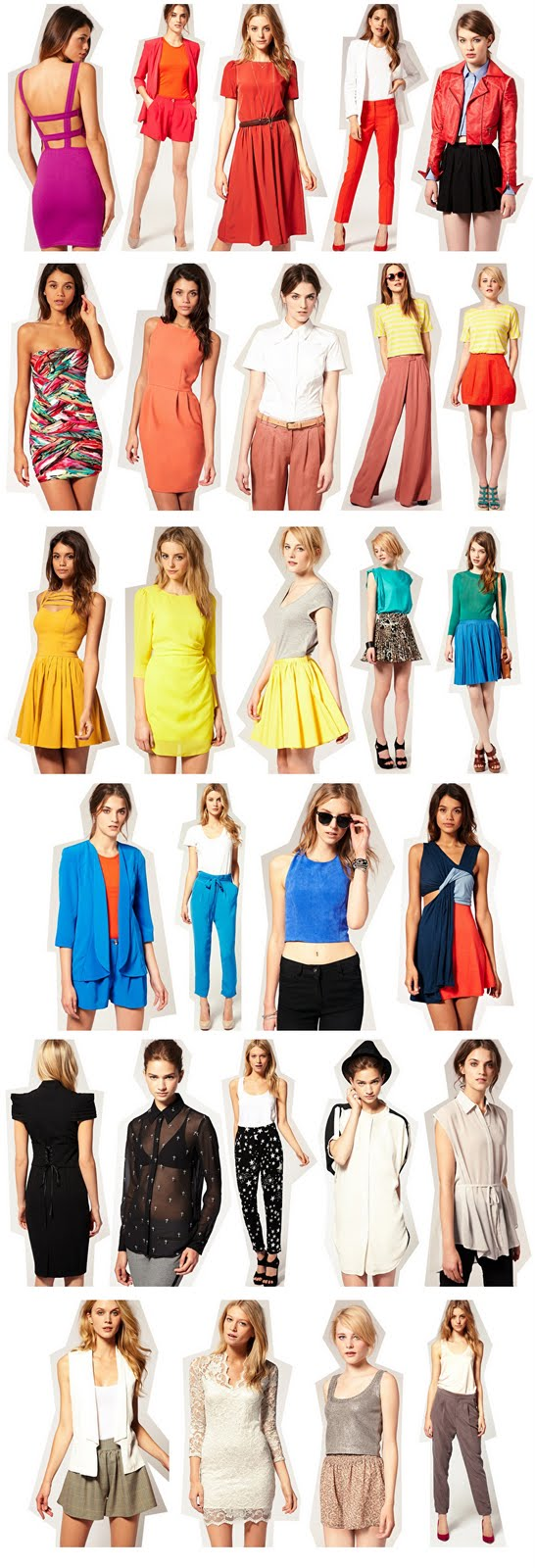 modne kolory