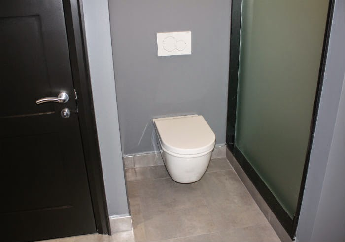 Floating Wall Mounted Toilet
