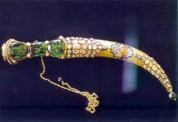 Pedang Shamshir-e-Zomorrodnegar