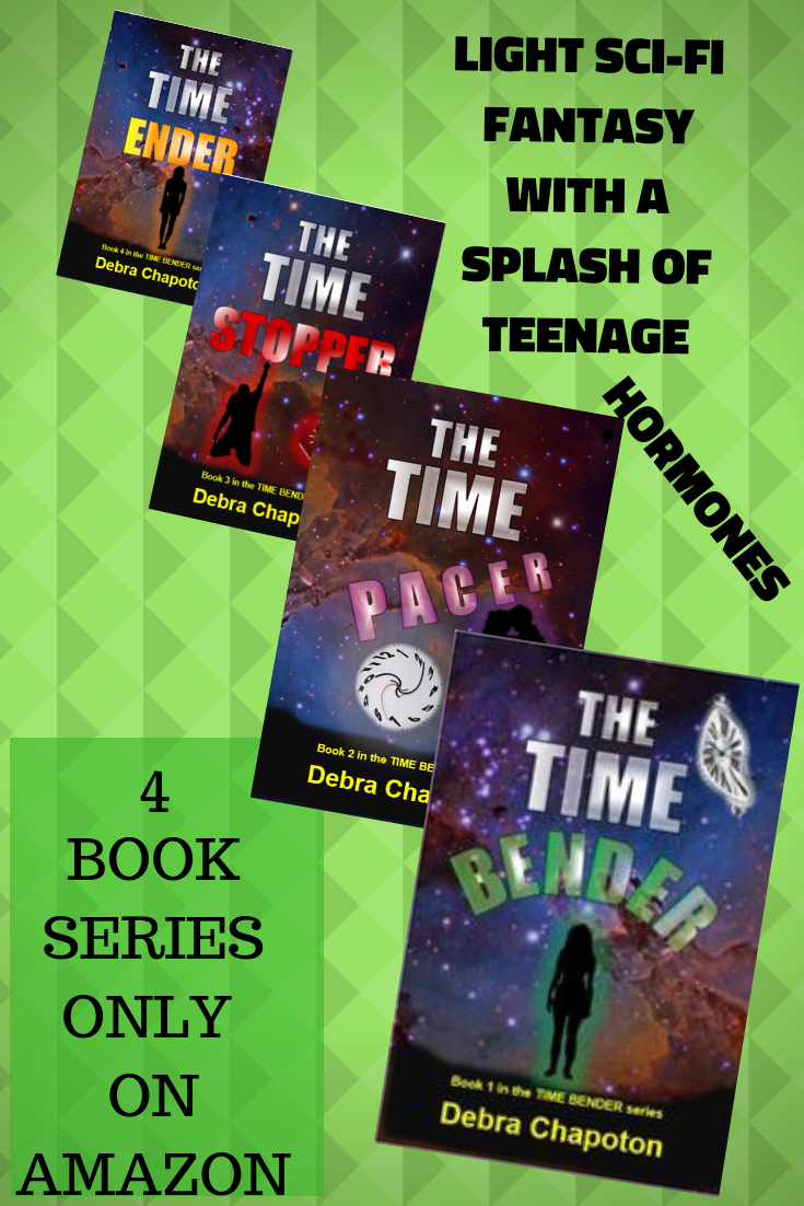 The Time Bender Series Now Complete!