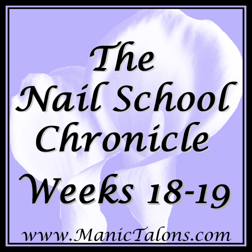 The Nail School Chronicle Weeks 18 & 19