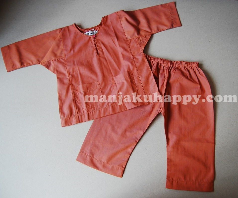 Baju Melayu Johor Klasik Kanak-kanak 0-1y