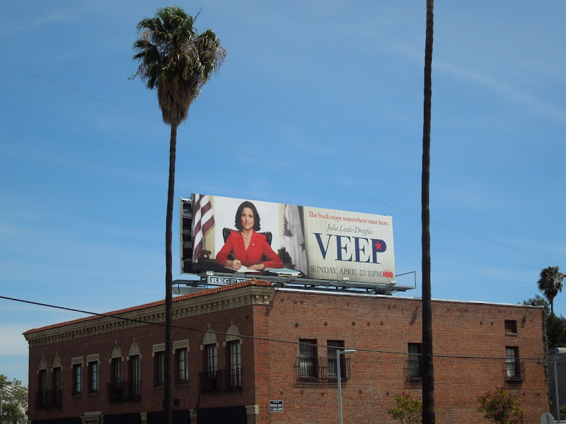 Veep billboard ad