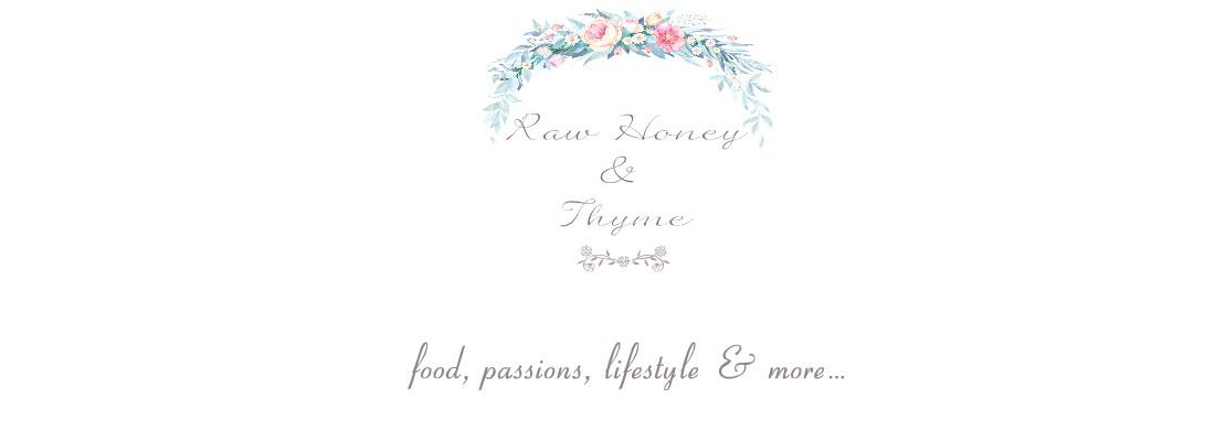 Raw Honey & Thyme