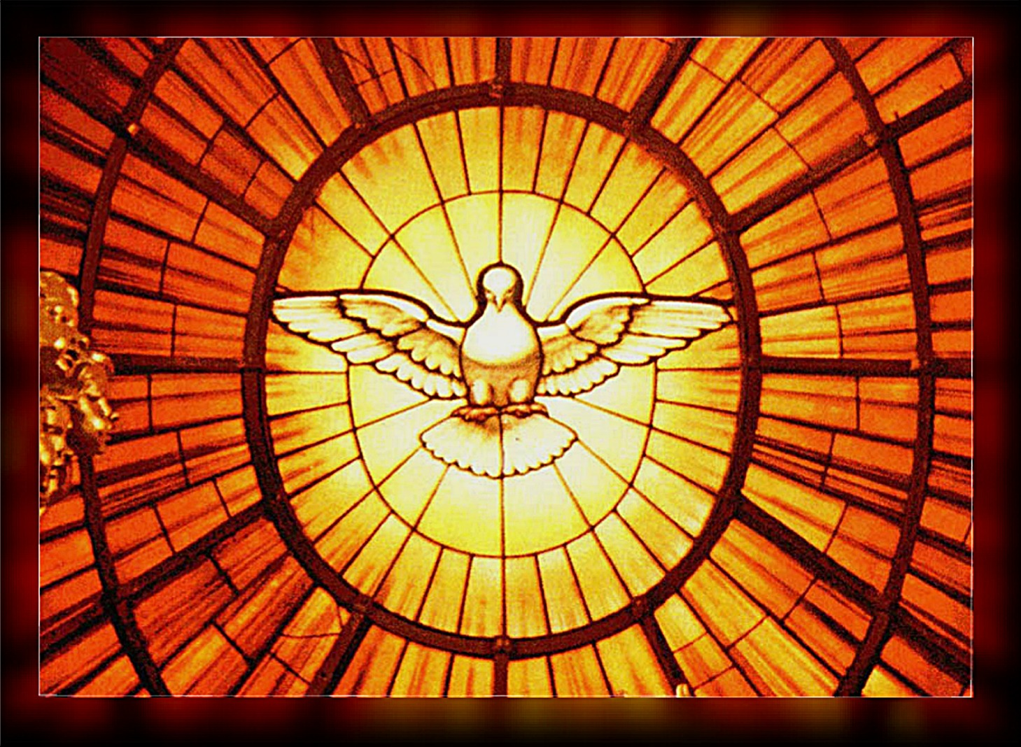 Pope Benedict reflecting St. Augustine's thoughts on the Holy Spirit