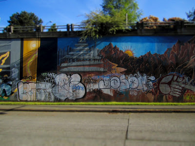 Northeast Campus Parkway Mural - U-District