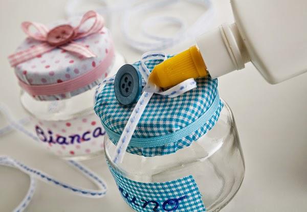 Potinhos personalizados para lembrancinhas de festa - Passo a Passo