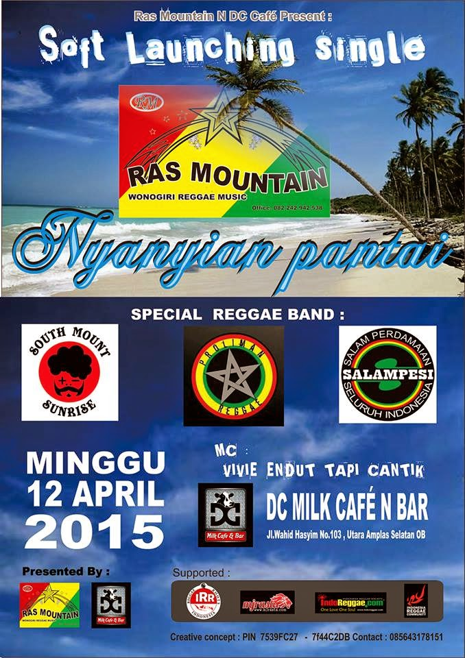 "Event : Soft Launcing Single ""Ras Mountain - Nyanyian Pantai"""