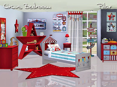 22-05-2015 Circus Bedroom