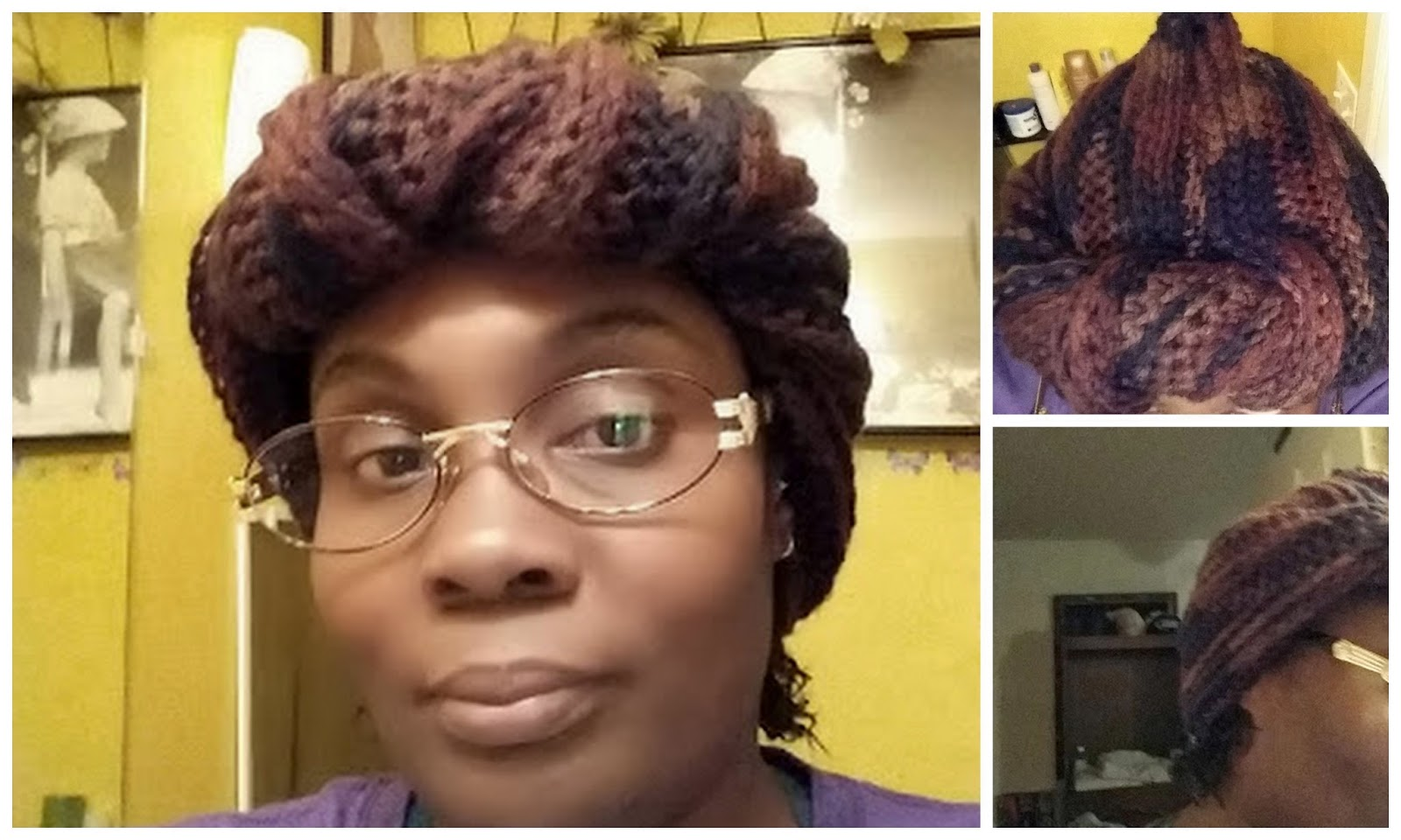 Angie Saunders' First Crochet Wrap Twist Turban