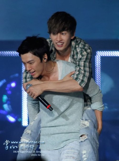 eunhyuk and donghae relationship with god