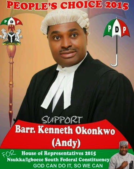 kenneth okonkwo campaign poster