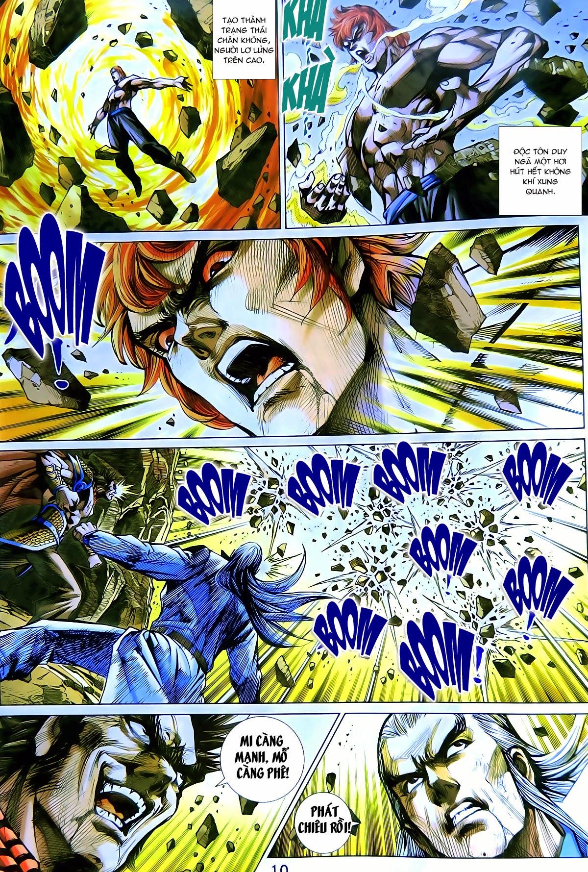 Tân Tác Long Hổ Môn chap 778 Trang 11 - Mangak.info