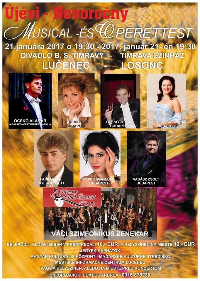 Musical és Operettest