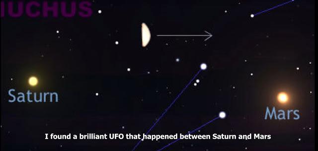 L'étrange OVNI capturé par le télescope Celestron 9.25, le 28 mai, 2016 - 1 heure du matin