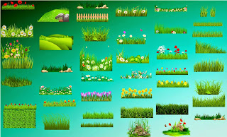 Green Grass png Collection free