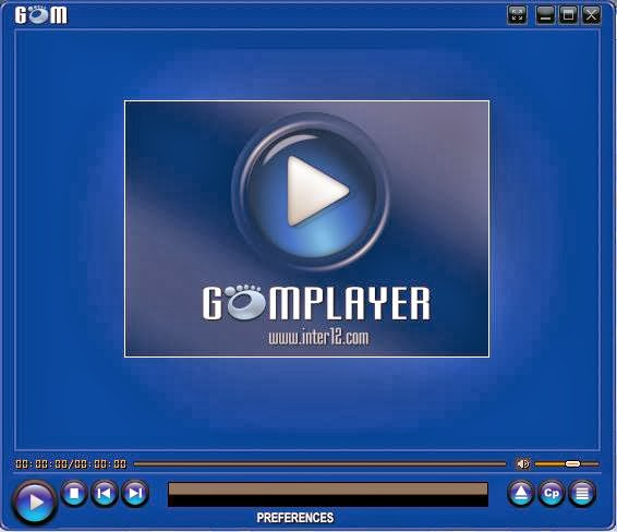 skin GOM Player, thema, inter