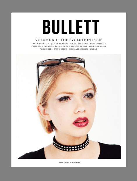 Tavi Gevinson for Bullett Magazine November 2013