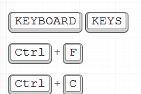 Add Keyboard Keys Effect To Your Text in Blogger with CSS